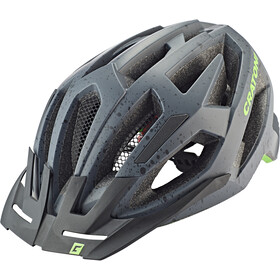 Cratoni C-Flash Casque De Vtt, grey/lime matte